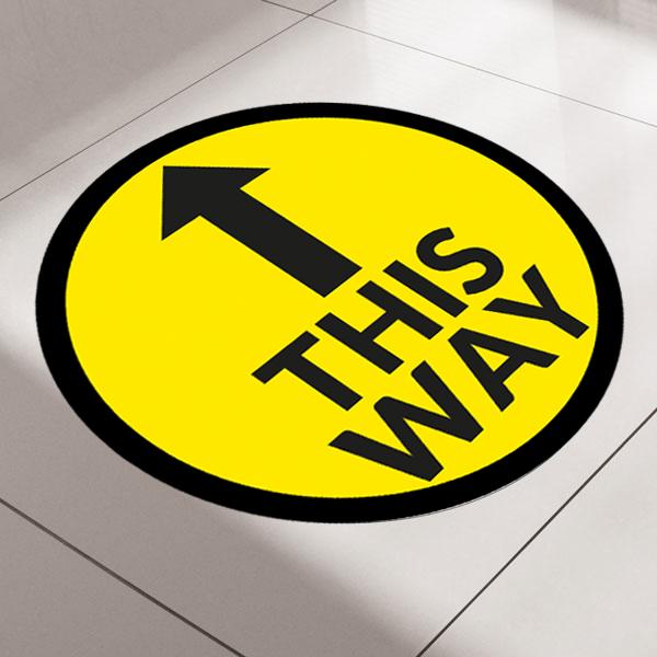 Arrow Floor Sticker