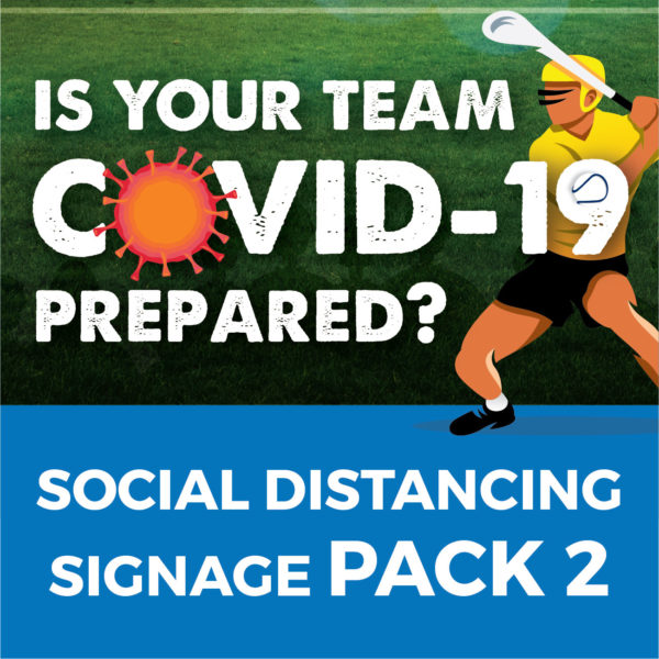 Sport Pack Covid-19 Signage