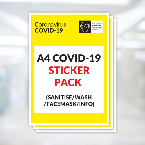 Covid-19 Sticker Pack