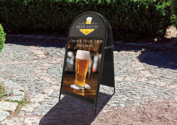 Booster-A-Board Pavement Sign